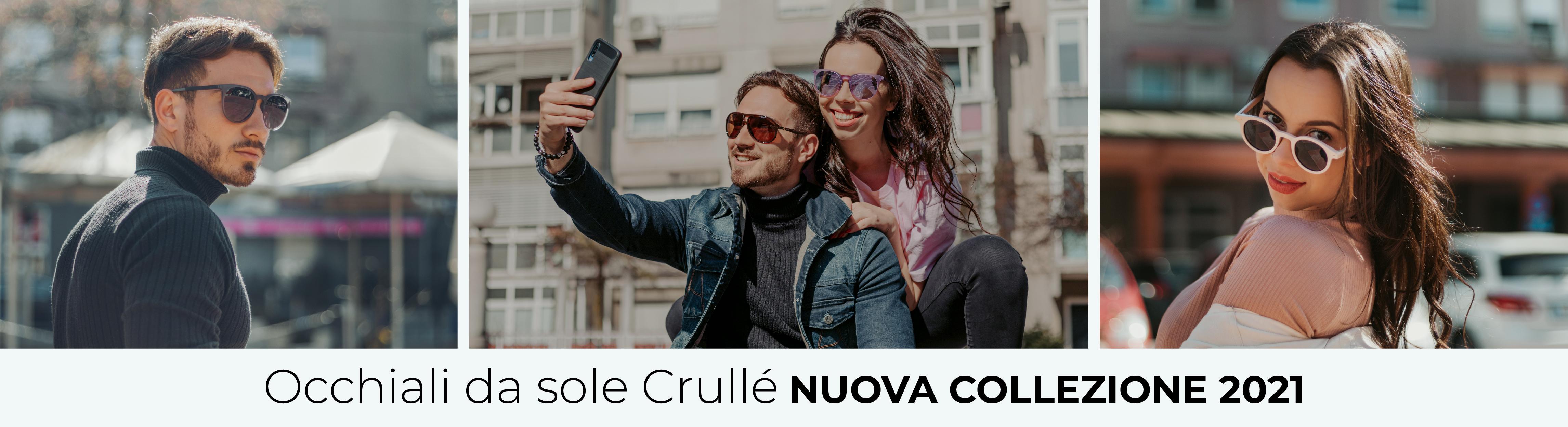 Nuova collezione occhiali da sole Crulle 2021