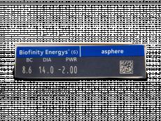Biofinity Energys (6 lenti)