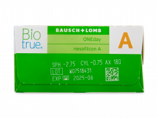 Biotrue ONEday for Astigmatism (30 lenti)