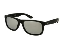 Lenti a contatto - Occhiali da sole Alensa Sport Black Silver Mirror