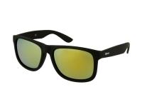 Lenti a contatto - Occhiali da sole Alensa Sport Black Gold Mirror