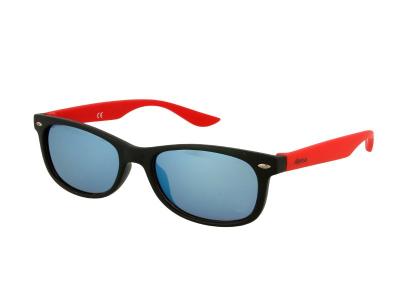 Occhiali per bambini Alensa Sport Black Red Mirror