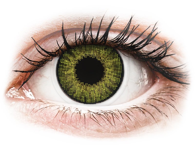 Air Optix Colors - Gemstone Green - non correttive (2lenti)