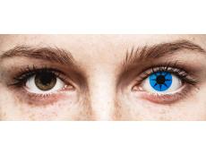 ColourVUE Crazy Lens - Blue Star - non correttive (2 lenti)