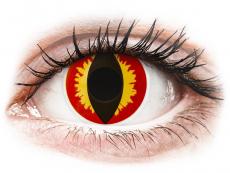 ColourVUE Crazy Lens - Dragon Eyes - non correttive (2 lenti)