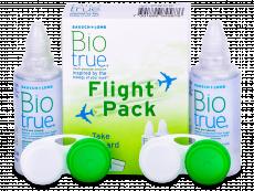 Soluzione Biotrue Flight Pack 2x60 ml