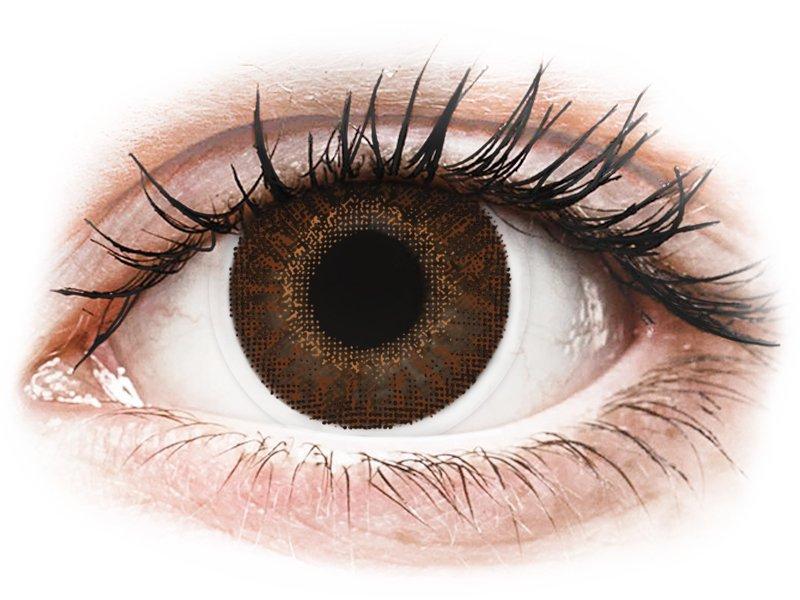 TopVue Color - Brown - non correttive (2 lenti)