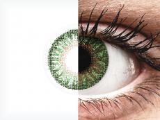 TopVue Color - Green - non correttive (2 lenti)