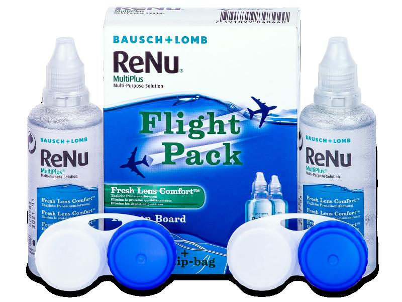 Soluzione ReNu Multiplus flight pack 2 x 60 ml