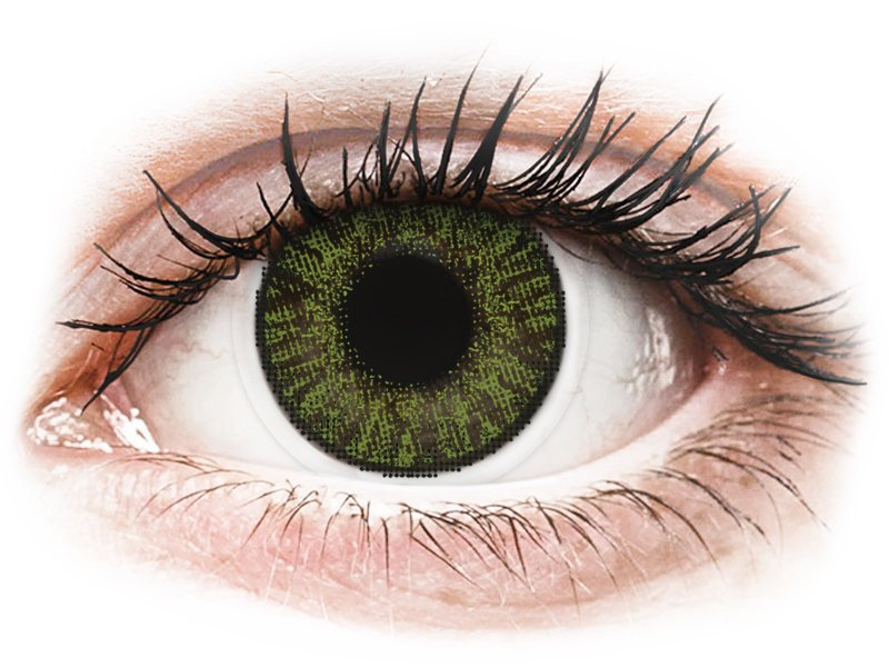 FreshLook ColorBlends Green - non correttive (2 lenti)
