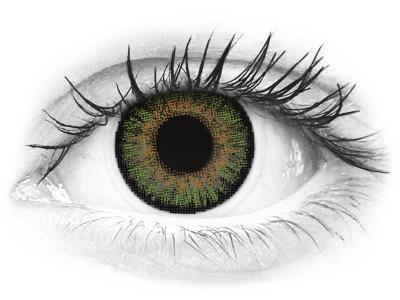 FreshLook One Day Color Green - correttive (10 lenti)