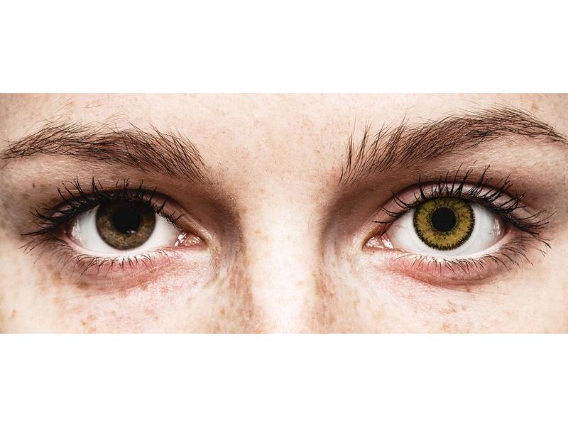 SofLens Natural Colors Dark Hazel - non correttive (2 lenti)