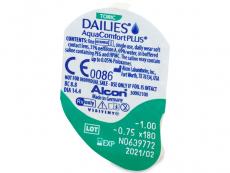 Dailies AquaComfort Plus Toric (90lenti)