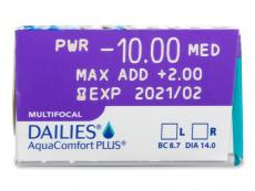 Dailies AquaComfort Plus Multifocal (30lenti)