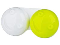 Lenti a contatto - Astuccio porta lenti 3D - yellow