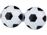 Lenti a contatto - Astuccio porta lenti Football - black