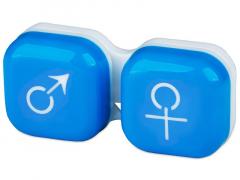 Astuccio porta lenti man&woman - blue