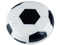 Astuccio con specchietto Football - black