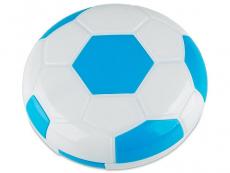 Astuccio con specchietto Football - blue