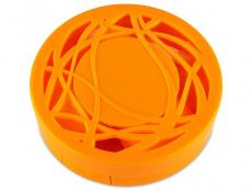 Astuccio con specchietto - Orange ornament