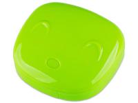 Lenti a contatto - Astuccio con specchietto Face - green