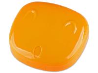 Lenti a contatto - Astuccio con specchietto Face - orange
