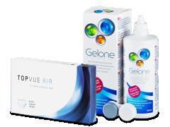 TopVue Air (6lenti) + soluzione Gelone 360 ml