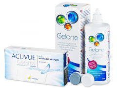 Acuvue Oasys (12 lenti) + soluzione Gelone 360 ml