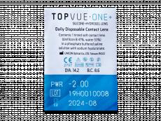 TopVue One+ (30 lenti)