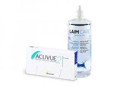 Acuvue 2 (6 lenti) + soluzione Laim-Care 400 ml