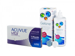 Acuvue Vita (6 lenti) + soluzione Gelone 360 ml