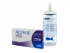 Acuvue Vita (6 lenti) + soluzione Laim-Care 400 ml