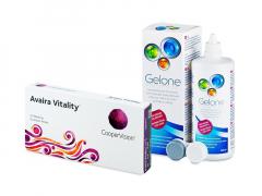 Avaira Vitality (6 lenti) + soluzione Gelone 360 ml
