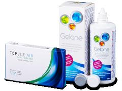 TopVue Air for Astigmatism (3 lenti) + soluzione Gelone 360 ml