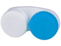Lenti a contatto - Astuccio porta lenti blue&white L+R
