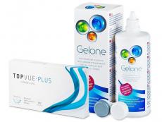 TopVue Plus (6 lenti) + soluzione Gelone 360 ml