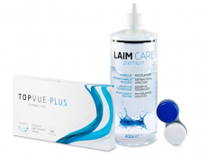TopVue Plus (6 lenti) + soluzione Laim-Care 400 ml