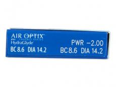 Air Optix plus HydraGlyde (6 lenti)
