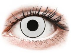 CRAZY LENS - White Black - giornaliere non correttive (2 lenti)