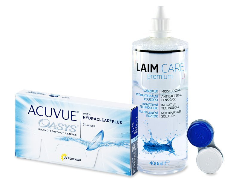 Acuvue Oasys (6lenti) + soluzione Laim-Care 400 ml
