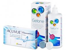 Acuvue Oasys (6 lenti) + soluzione Gelone 360 ml