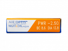 Air Optix Night and Day Aqua (3lenti)